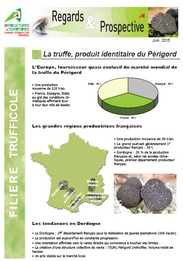 Fili re trufficole la truffe produit identitaire du - Chambre d agriculture haute vienne ...