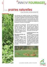 Les prairies naturelles cultiver la diversit chambre - Chambre d agriculture haute vienne ...