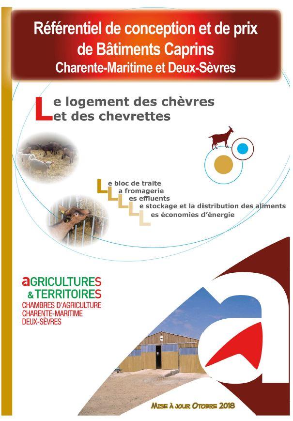 R f rentiel de conception et de prix de b timents caprins - Chambre d agriculture haute vienne ...